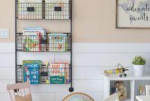 Homeschooling room ideas
