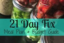 Meal Planning for 21 Day Fix Extreme/ 21 Day Fix