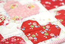Quilts with Hearts