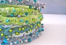 fabric & fiber jewelry