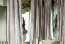 Window treatments, draperies and curtains / Window dressing