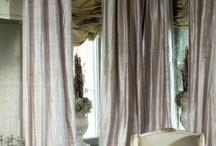 satin drapes