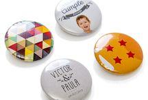 Chapas personalizadas / Chapas personalizadas con fotos, diseños o frases.