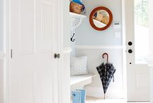 house - mud room and entry hall / by Sarah Jacobsen