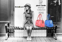 Colección Pierre Cardin 2015 / Bolsos de mujer Pierre Cardin de la colección 2015