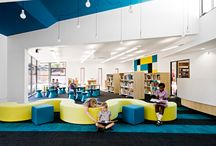 School design / Looking at potential ideas for school renovation.  With a focus of vibrant, flexible spaces that meet the need of today's students.  Please Pin ideas here that you would like considered, when we get to the appropriate time to recreate the campus (funds willing)!