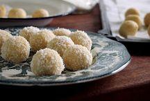 Lemon coconut truffle