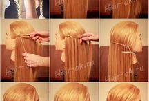 penteados diversos