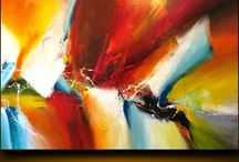 Very large paintings, 60x40in at $1800