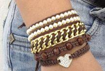 Mix de pulseiras Chan Luu