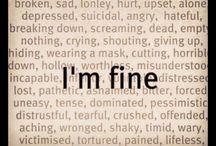 Tristhet, smerte, enaomhet