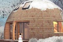 Dome en bois