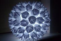 Lighting origami