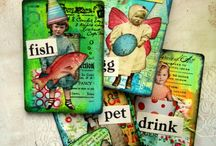 ATC'S &. ARTIST TRADING BLOCKS / by Kim Collister