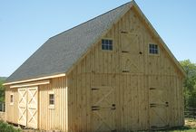 Barn Ideas / Ideas for new Barns, Stalls and fencing for our animals.
