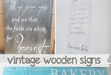 Signs, Whitewash, Boards, Stencils, Transfers