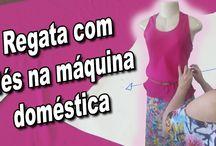 camiseta feminina com viés