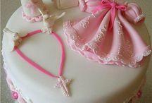 крестины торт