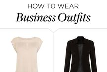 HOW TO WEAR BUISSINESS OUTFIT