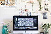 Home Decor : Work Space / by Immelia Izalena