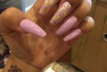 Nails with foil