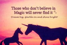 unicorns and inspirational quotes