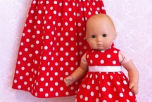 BITTY BABY clothes / Baby doll clothes for twins / by sharon wallace
