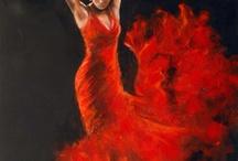 Flamencas para pintar