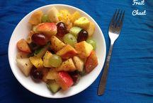 Salads and Chaats / More salads and chaats recipes