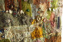 арт-текстиль и бисерный фриформ