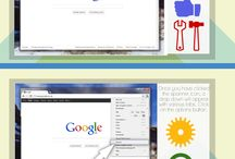 Make Google Your Homepage / Find out how to make Google your homepage with this informational board.