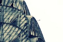 Architectural photography / Buildings architecture. Beautiful man made structures