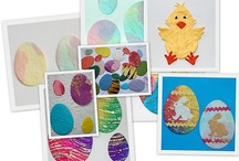 Handmade Easter die cuts for cards and craft
