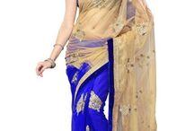 Tulsi sari / http://www.banglewale.com/collections/tulsi-sari-collection