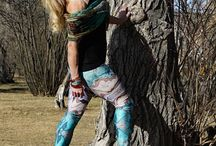 Fashionable Leggings By Jean Michel / Leggings's motifs are natured inspired fashion. Unique motif and very good quality. All of our leggings are moisture wicking and four way stretch Made in Canada.