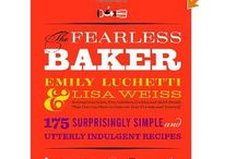 my cookbooks / by FearlessBaker Emily Luchetti