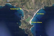 Villasimius Kitesurf, kitesurfen, spot kite / Kite spots for Kitesurfing VIllasimius: Campulongu and Porto Giunco, Kitesurfing Lessons, SUP Lessons and Tours, Boat and Snorkeling Tours.