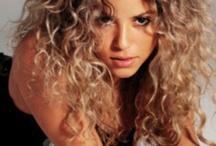 Curly hair and make up / Hair, naturel make up, curly