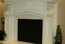What's In Our Showroom? / These are the Mantels we have in our showroom in Draper!