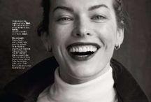 Milla Jovovich by Matthew Brookes