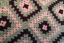 Needlework - Knitting and crocheting.