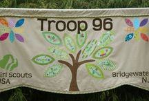 Girl Scout Banner Ideas