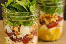 Recipes - Salad in a Jar