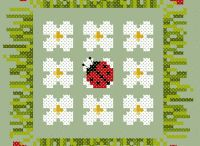 cross stitch pattern lady bug