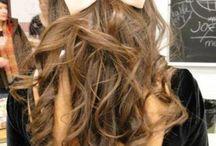 Hair and pretty bows :)