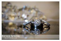 Rings / Wedding rings photographed by Renee Sprink. www.reneesprink.com