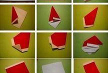 Mikołaj - origami
