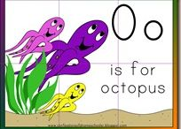 """MFW:  Oo - Octopus / Activities for MFW letter """"O""""."""