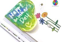 Butterfly Crafts for Kids / Butterfly Crafts and Gifts the kids can make. Great for mother's day or mum's Birthday.