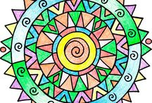 Coloring Books and Pages / All About Coloring Books, some mine, some from other artists.
